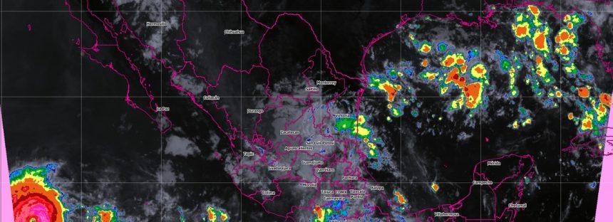En las próximas horas se prevén tormentas intensas en Oaxaca, Chiapas y Veracruz