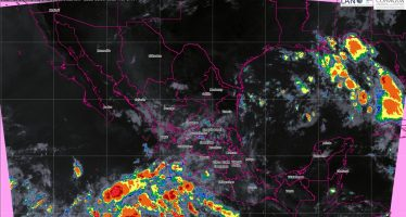 Se pronostican tormentas muy fuertes para 12 entidades de México en las próximas horas