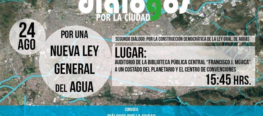 Segundo Diálogo: Por una nueva Ley General de Aguas