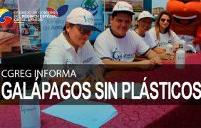 Las Islas Galápagos sin plásticos de un solo uso