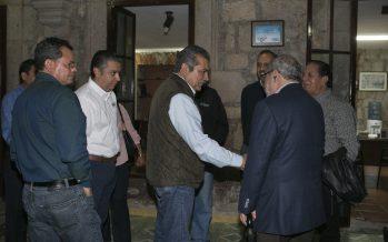 Encuentro entre Canaco y presidente electo Raúl Morón Orozco para impulsar el turismo en Morelia