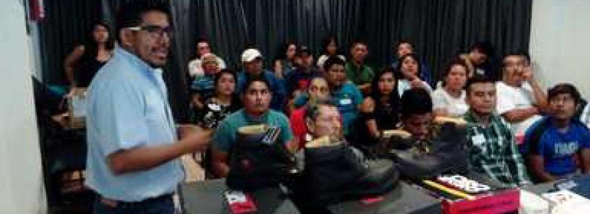 Comités de vigilancia ambiental participativa del parque nacional El Veladero, reciben capacitación
