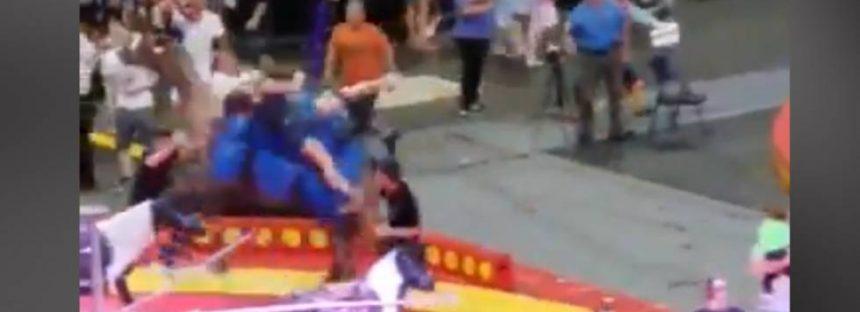 Un camello desata el caos en un circo de Pittsburgh