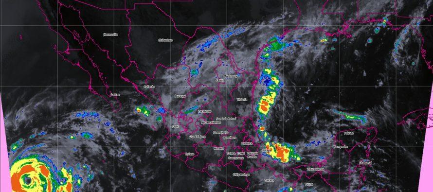 Tormentas intensas para Nayarit, Jalisco, Oaxaca, Puebla y Veracruz