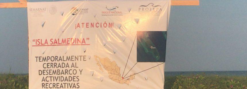 Cierre temporal de todas las actividades turísticas de Islas Salmedina y de Enmedio