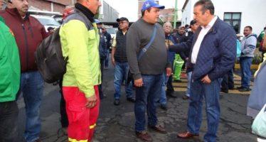 Atención inmediata a las áreas verdes del municipio por parte de Presidente Raúl Morón