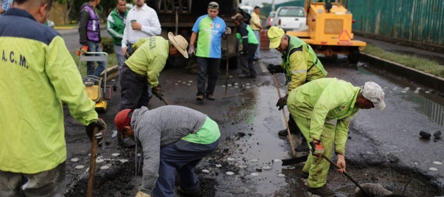Arranca programa de regeneración vial en Morelia