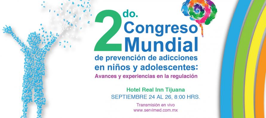 Segundo congreso mundial de prevención de adicciones en niños y adolescentes