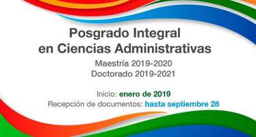 Posgrado Integral en Ciencias Administrativas