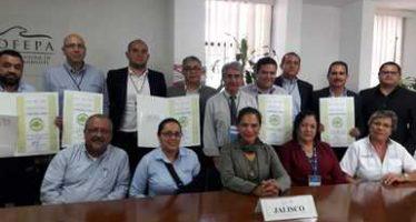 Cinco empresas de Jalisco reciben certificados de industria limpia y calidad ambiental