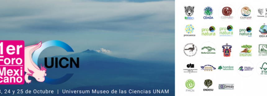 Primer foro mexicano UICN