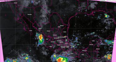 Durante las próximas horas se prevén tormentas intensas en regiones de Puebla, Veracruz, Oaxaca y Chiapas