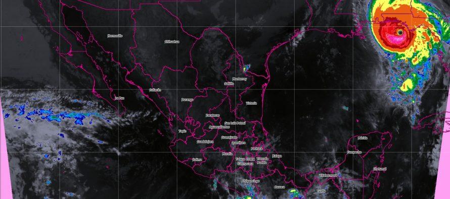 Se prevén tormentas superiores a 250 milímetros en el occidente, el centro y la costa de Chiapas