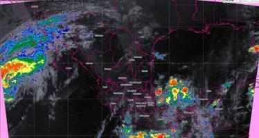 Se pronostican tormentas intensas para Baja California Sur, Veracruz, Guerrero, Oaxaca, Puebla y Chiapas