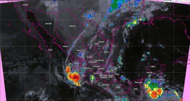 Pronostican tormentas intensas para Coahuila, Nuevo León, Veracruz y Chiapas