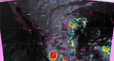 En las próximas horas se prevén tormentas intensas en Puebla, Veracruz, Oaxaca y Chiapas