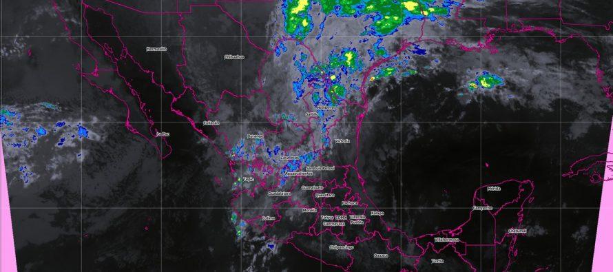 Prevén tormentas intensas en Durango y muy fuertes en Zacatecas