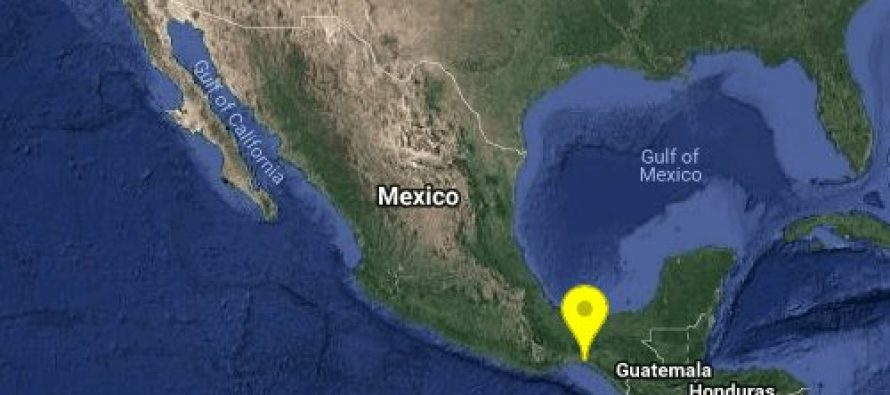 Sismo de magnitud 5.7 en Chiapas
