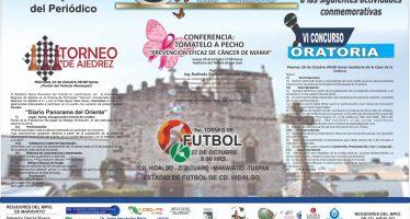 Actividades conmemorativas por el XVII aniversario del periódico Diario Panorama del Oriente