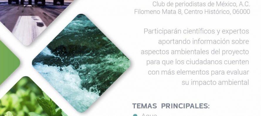 Foro ciudadano de información sobre el impacto ambiental del nuevo aeropuerto internacional de la Ciudad de México