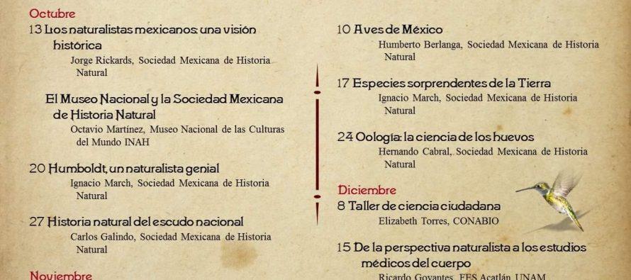 """Ciclo de conferencias: """"Todos somos naturaleza"""""""