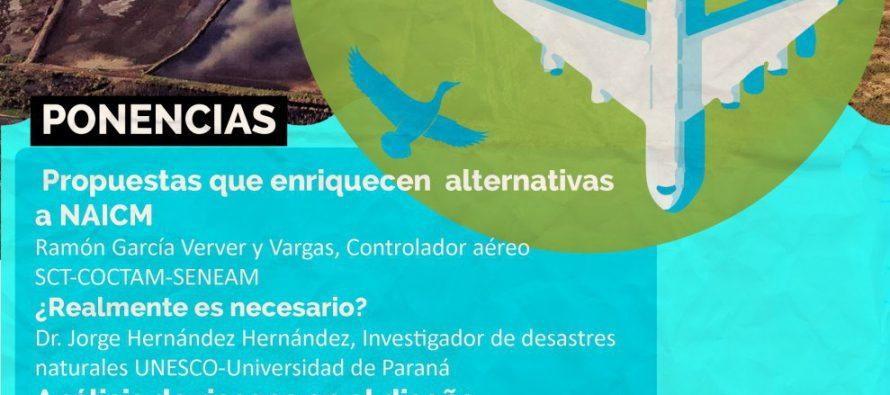 #NAICM aeronáutica, meteorología y tránsito aéreo
