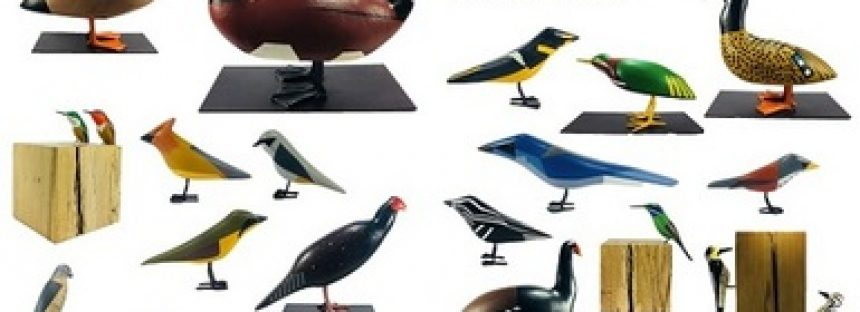 Aves de las Ciudad de México, una exposición de arte sustentable en el Metro Zócalo
