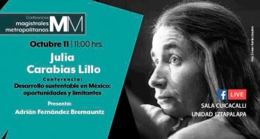 Conferencia: Desarrollo sustentable en México: oportunidades y limitantes
