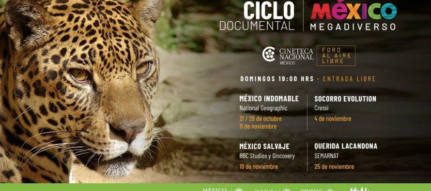 Ciclo de cine documental México Megadiverso