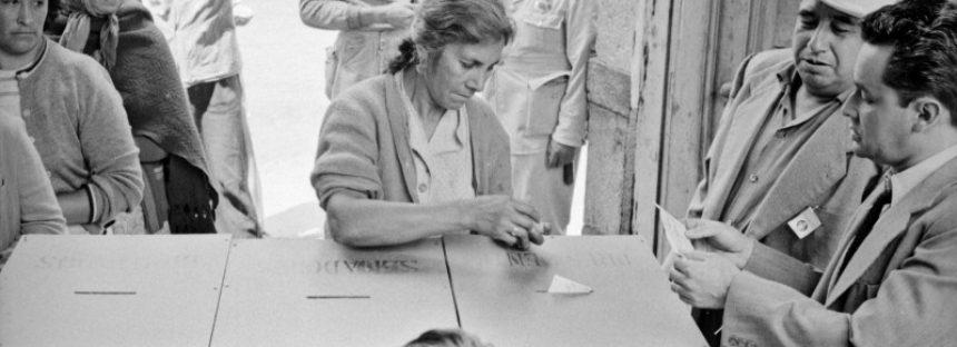 17 de octubre de 1953 – Derecho al voto para la mujer en México *