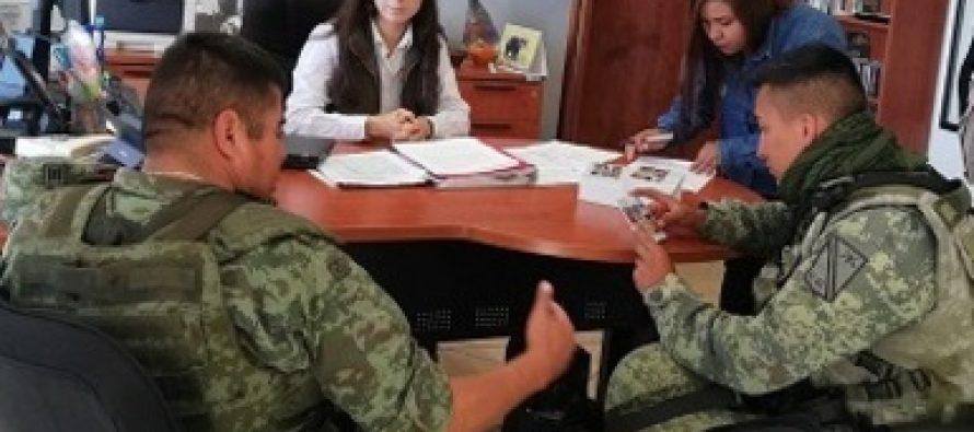 Entregan donación de 1.6 toneladas de carbón vegetal a la 11ª zona militar de la senada en Guadalupe, Zacatecas