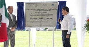 Primer refrendo a proteína animal (PROAN) como parque industrial limpio, en Jalisco