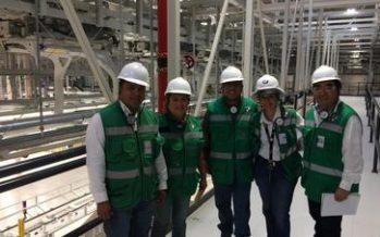 Supervisan proceso de autoría ambiental en la empresa de San Luis Potosí