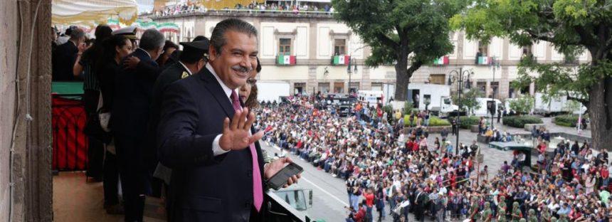 Ayuntamiento de Morelia viste con desfile cívico militar el CCLIII Aniversario del Natalicio del Generalísimo Morelos