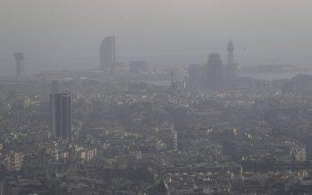 Barcelona atribuye a la polución 354 muertes en 2017