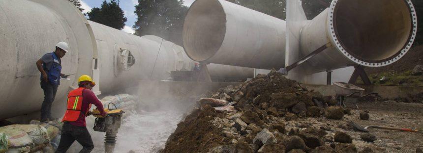 La 'K invertida', la clave del fiasco en la reparación del sistema de agua de Ciudad de México