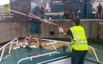 La Guardia Civil investiga a más de 70 personas por delitos de contaminación marítima