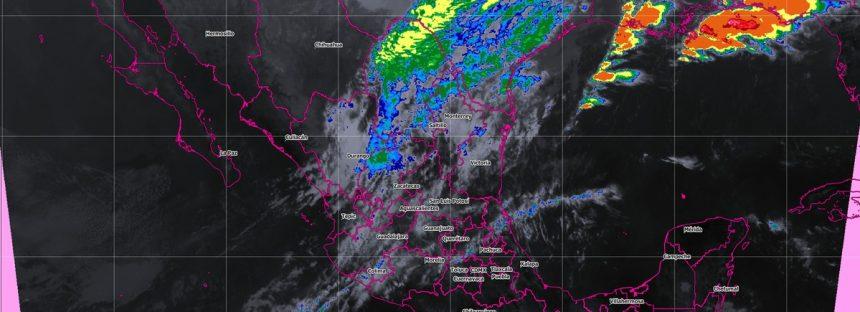Se pronostican tormentas intensas para Puebla y Veracruz
