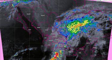 Se prevén tormentas intensas en Michoacán y Guerrero, y muy fuertes en Morelos, Oaxaca, Yucatán y Quintana Roo
