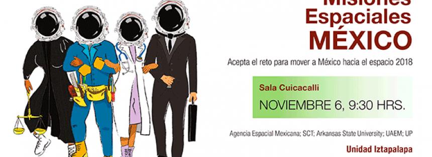 Concurso misiones espaciales México