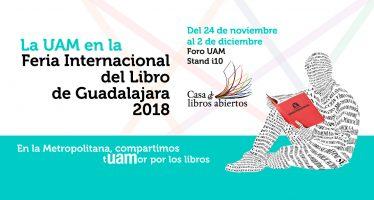 La UAM en la feria internacional del libro de Guadalajara 2018