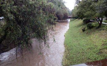 Vigilancia permanente de ríos y arroyos de Morelia ante las lluvias provocadas por la tormenta tropical Xavier