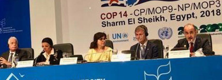 México se compromete a fortalecer la COP14 sobre la Biodiversidad