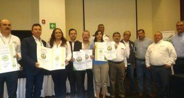 Entregan certificados ambientales a 4 empresas