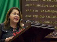 En Michoacán, el salario de la alta burocracia debe ser congruente y no ofender a los ciudadanos: Cristina Portillo