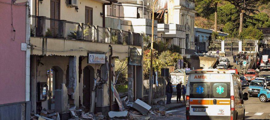 Italia declarará el estado de emergencia tras el terremoto causado por la erupción del Etna