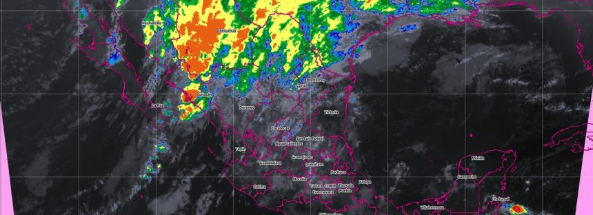 Se prevé precipitación de nieve o aguanieve en sierras de Baja California, Chihuahua, Durango, Sonora y Coahuila