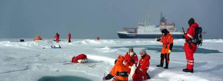 El hielo marino del Ártico se espesa más rápido en invierno