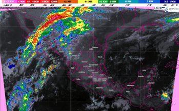 Tormentas fuertes se prevén en el sur de Veracruz y el norte de Oaxaca