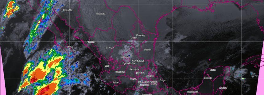 En Baja California, Sonora, Veracruz, Hidalgo, Puebla, Oaxaca y Chiapas se prevén tormentas fuertes
